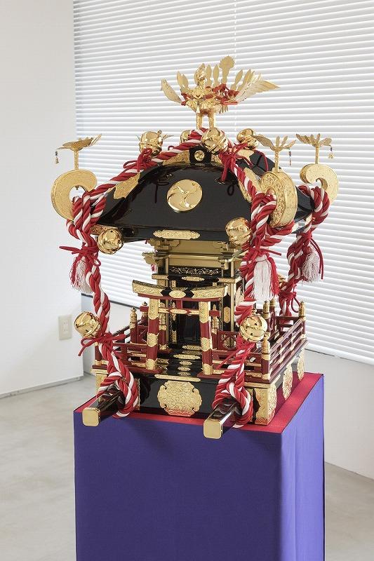子供神輿(尺3寸・延べ破風蒔絵龍神神輿)