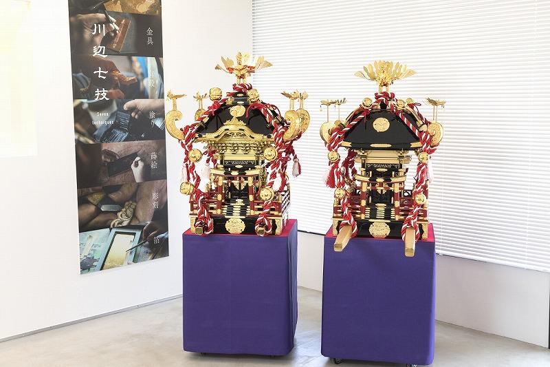 川辺仏壇お神輿レンタル